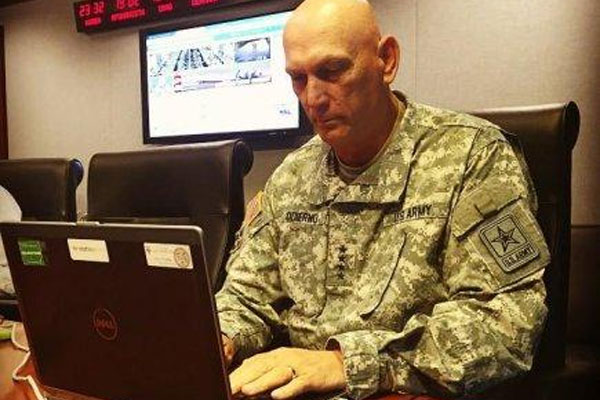 Odierno Talks Retirement, ISIS at Facebook Town Hall ...