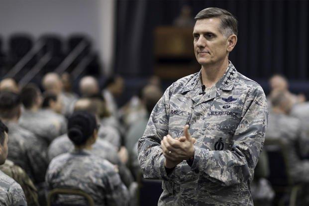 Air Force Global Strike Command commander speaks