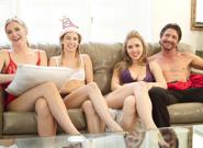 BTS   Family Holiday   Tommy Gunn & Logan Pierce & Mona Wales & Lena Paul & Kristen Scott & Reagan Foxx