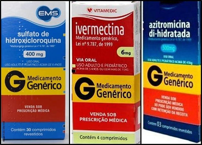 Resultado de imagem para tratamento precoce ivermectina,hidroxicloroquina