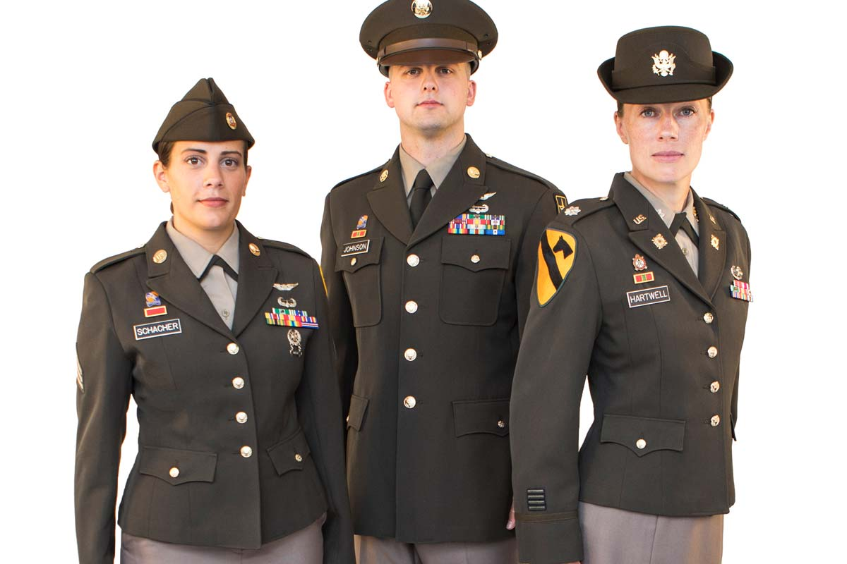 Army Close To Finalizing Pinks And Greens Uniform For All