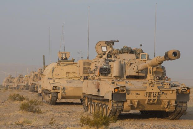 convoy National Training Center at Fort Irwin
