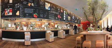 Vapiano jetzt 3 mal in Wien Pizza Pasta Salate Bar