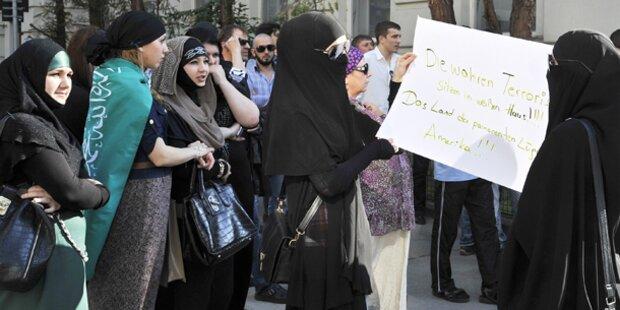 Bildergebnis für tschetschenen demonstration wien