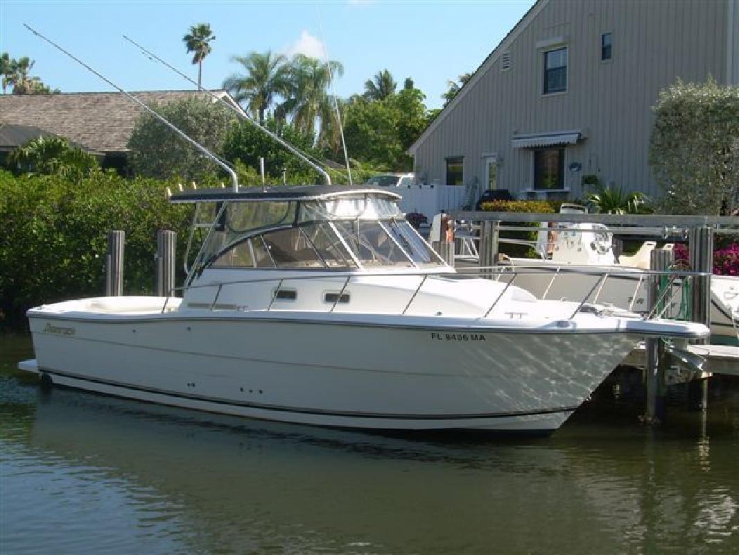 2000 29 Shamrock 290 Walkaround For Sale In Stuart Florida All Boat