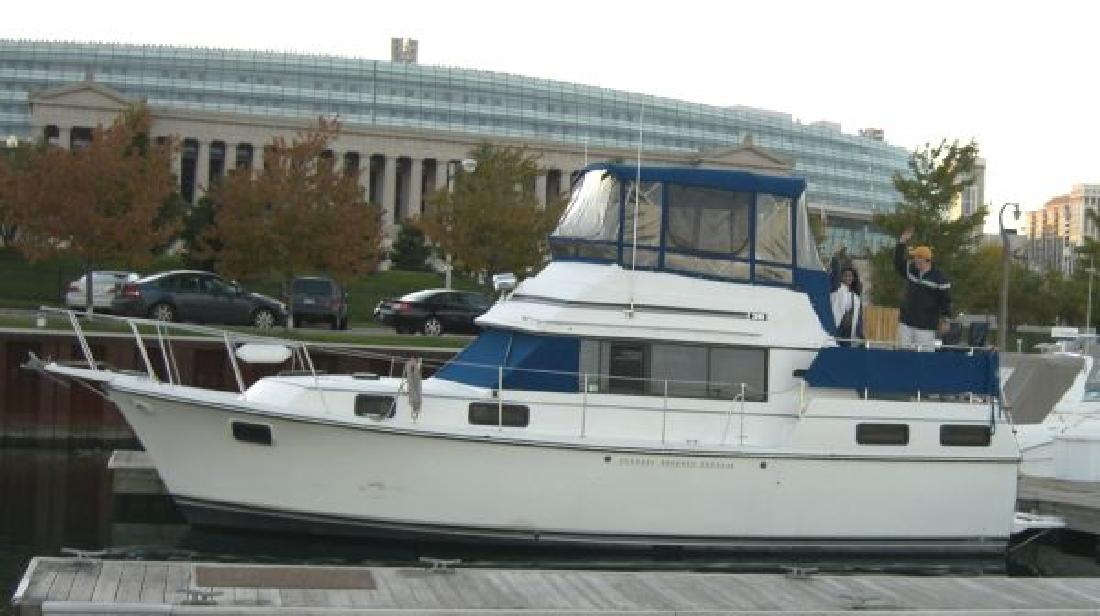1986 36 Carver 3607 Aft Cabin For Sale In Chicago