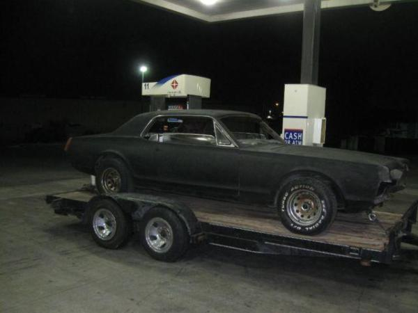1967 Mercury Cougar XR7 Rust Free Solid Project for Sale ...