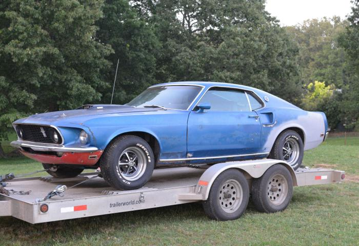 Silverstone auctions has just released their list of cars that will be up for auction at the walter hayes s. 1969 Ford Mustang Mach 1 Fastback Project For Restoration For Sale In Des Moines Iowa Classified Americanlisted Com
