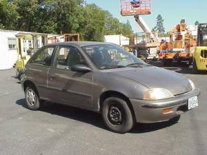 1997 Geo Metro LSI 2 Door Hatchback Car for Sale in Grants