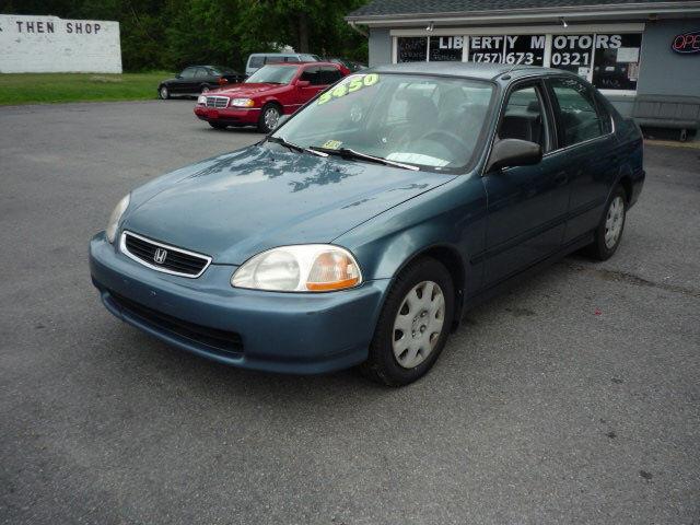 1998 Honda Civic Ex Specifications