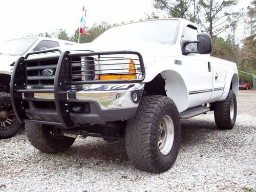 Cab Lifted 99 F 250 Reg