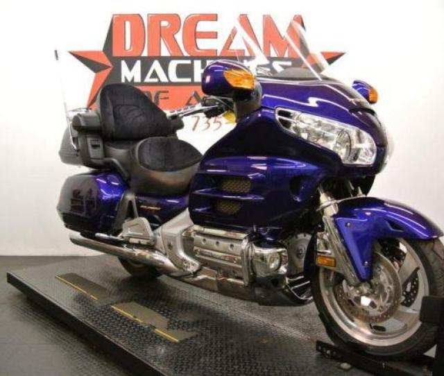 2003 Honda Gl1800 Gold Wing Illusion Blue For Sale In Old Round Rock Texas