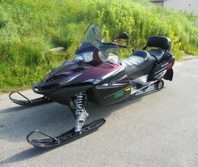 2009 Polaris Fst Iq Touring W 140 Hp And Only 652