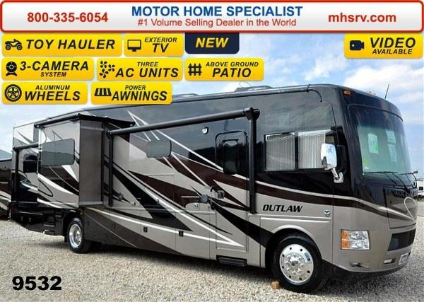 2015 Thor Motor Coach Outlaw 37MD Patio 26K Chassis 2