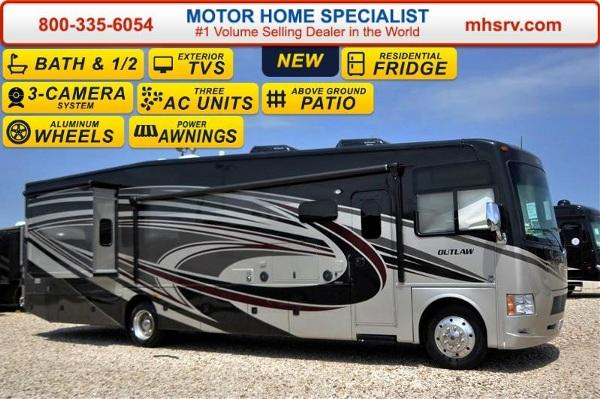 2016 Thor Motor Coach Outlaw Residence Edition 38RE Res
