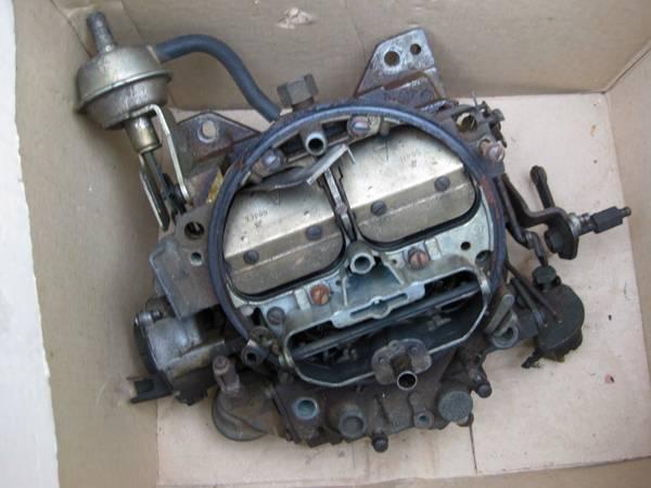 Rochester Carburetor Rebuilding