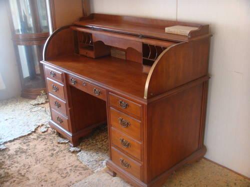 40 OFF Rolltop Desk Amp Chair Oak By Jasper Cabinet Co For Sale In Davenport Florida