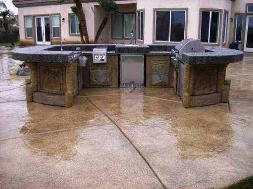 BBQ ISLANDS OUTDOOR KITCHENS BARBEQUE ISLAND BARBECUE ... on Backyard Patio Grill Island id=46794