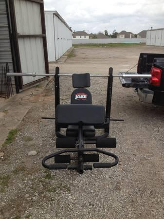 Body By Jake Professional Gym Grade Weight Bench Olympic