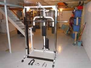 Body Solid Smith Machine And Olympic Weight Set New