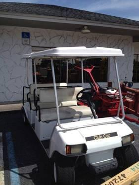 CLUB CAR VILLAGER BY INGERSOLLRAND ELECTRIC 6 SEATER FOR