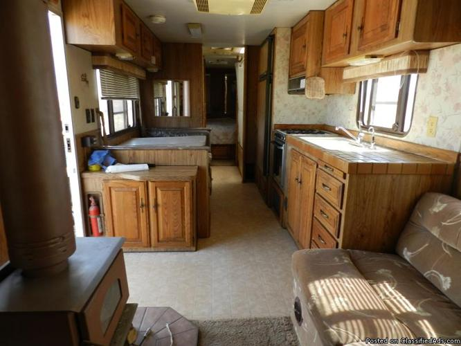 Cozy Travel Trailer With Wood Stove And Solar For Sale In