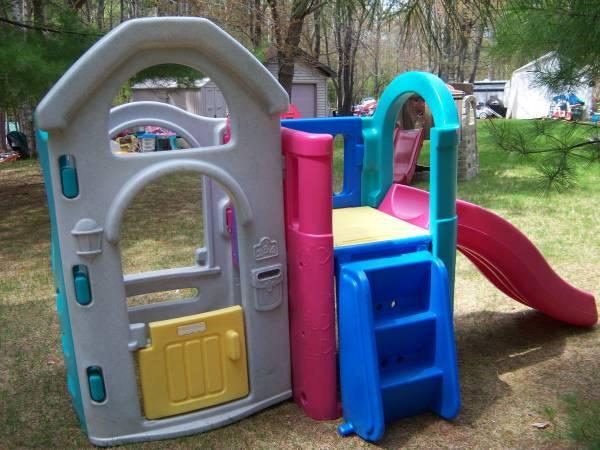 Fisher Price Adjustable Gym Climber Slide Clubhouse for
