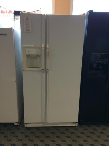 GE Profile White Side By Side Refrigerator USED For Sale
