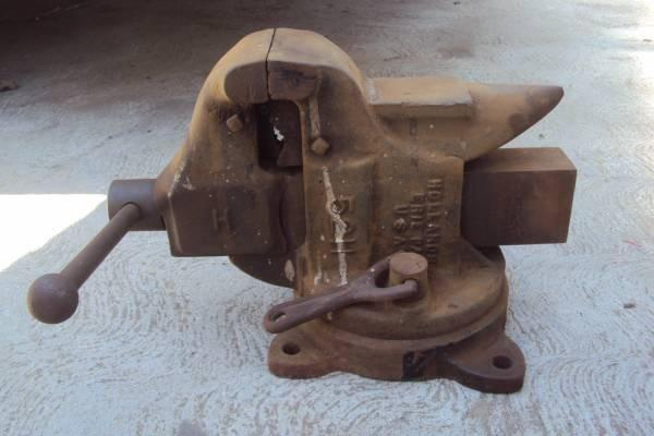 Hollands Erie Pa Usa Vise With Anvil For Sale In Bell