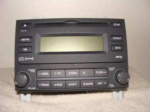 Hyundai Elantra AM FM CD MP3 Player Radio OEM  20072010