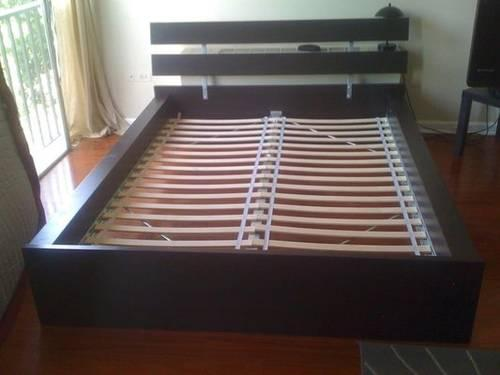 IKEA HOPEN Bed Frame Fulldouble Size With Slats For Sale