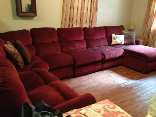 Lazy Boy 7 Piece Sectional Couch Recliner Amp Lounge Our