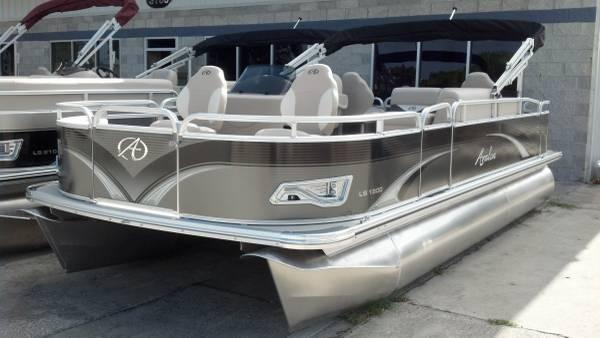 NEW AVALON 19FT LS QUAD FISH N FUN WITH 60 HP EVINRUDE ETEC For Sale In Orlando Florida