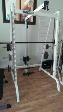 Parabody Smith Machine W Lat Pull Down See Full Ad For