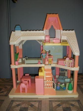 Playskool DOLLHOUSE With Accessories Romney Toy Shop 10 Min S Of Lafayette For Sale In