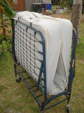 Portable Folding Bed Twin Size Mattress For Sale In Saint Cloud Florida Classified