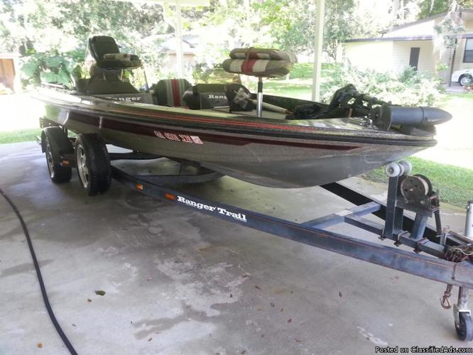 Ranger Bass Boat For Sale In Mims Florida Classified
