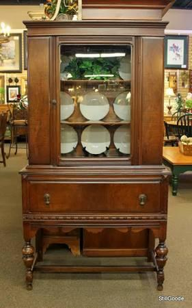 Small Vintage China Cabinet For Sale In Spring New
