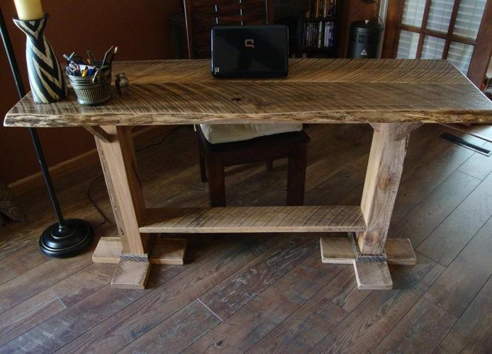 SOLD 5 SofaEntry Table Rustic New Custom Made