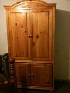 solid pine armoire lincoln for