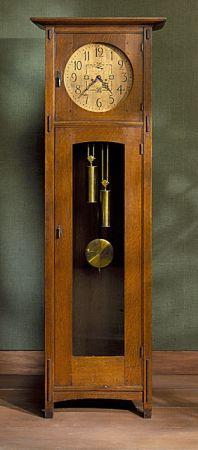 Stickley Grandfather Clock For Sale In Belmont