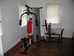 Weider Pro 4250 Weight Stack And Rack Home Gym Set Zion