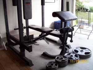 Weight Bench Weider Club C650 Hutto Texas For Sale In
