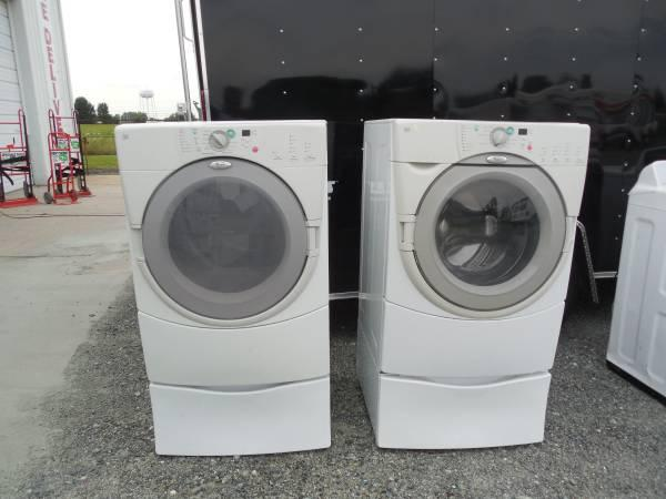 WHIRLPOOL DUET FRONTLOAD WASHER Amp ELECTRIC DRYER SET W
