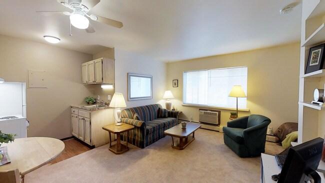 Studio 361sf Allen House Apartments