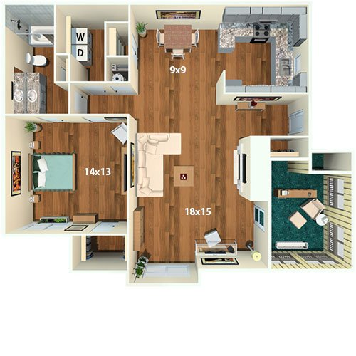 hillmeade apartment homes rentals - nashville, tn | apartments