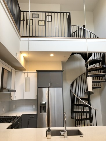 3035 15Th St Nw Unit 404 Washington Dc 20009 Condo For Rent In   Loft With Spiral Staircase   Small   Contemporary   Addition   Timber   New