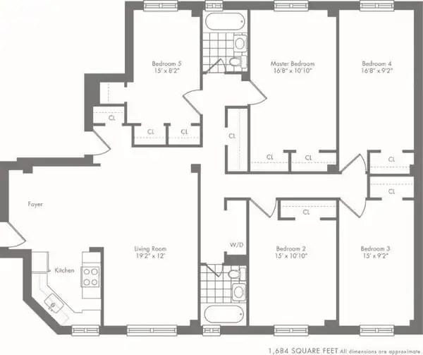 stuy town 2 bedroom floor plan – Stuy Town 2 Bedroom Floor Plan