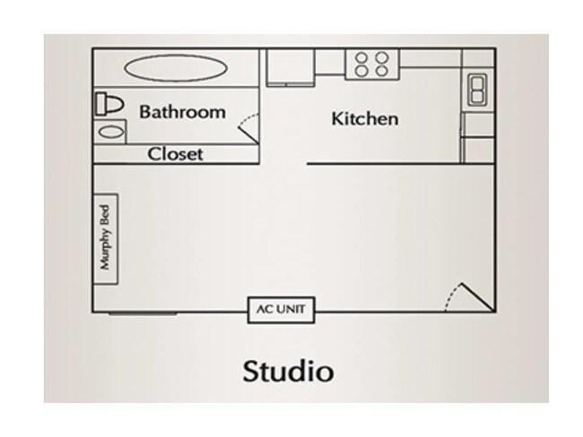 Floorplan Sango Place Apartments