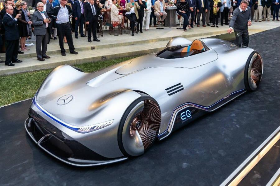 El Mercedes fue presentado en el concurso de elegancia de Pebble Beach